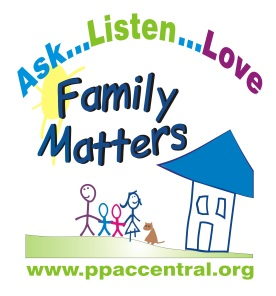 Family matters logo combined blue roof